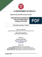 Weekly Influenza Report Week Ending Saturday November 30 2019