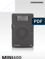 Grundig Mini 400 Manual