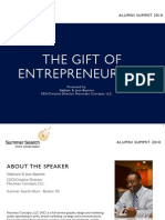 The Gift of Entrepreneurship | Summer Search Alumni Summit Workshop
