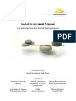 Social Investment Manual 2011