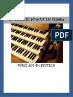 Catholic hymnal tonic sol-fa