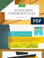 Los Estudios Experimentales