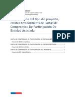 Cartas de Compromiso de Entidades Asociadas 12