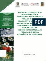 Agenda Prospectiva PAMC Industria Cosmetica