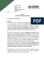 4o UNIDAD LAS FORMAS DE NORMACIÓN COLECTIVAS 2 oct 2016