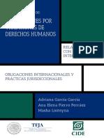 REPARACIONES POR VIOLACIONES DE DERECHOS HUMANOS