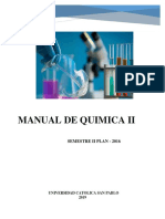 Quiimica II Plan 2016