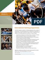 International Training Program