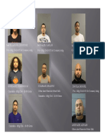 Operation FaceBOOKED Arrests