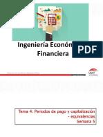 Tema 4. Periodos de Pago y Capitalización - Equivalencias