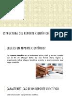 Estructura Del Reporte Científico