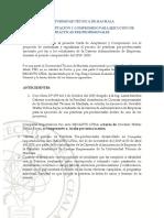 Formato de Ejecucion y Aprobacion de Practicas Compañia Importadora Oro Auto