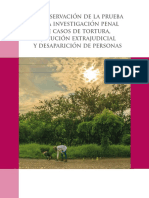 Cmdpdh La Preservacion de La Prueba en La Investigacion Penal de Casos de Tortura