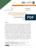 Estudio Psicométrico Parcial Del Cuestionario Version Final