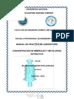 Practica de Concentracion de Minerales Nuevo i