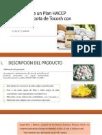 Elaboración de Un Plan HACCP Para Una Compota