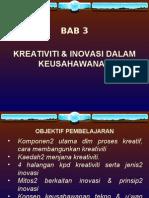 Bab 3 Kreativi Inovasi Tekno