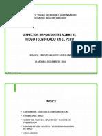 1. El Riego Tecnificado en El Peru_101216