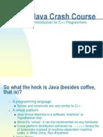 Extra Java Crash Course