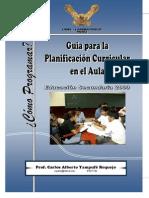 Guia Planificacion Curricular Aula