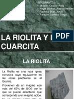 RIOLITA Y CUARCITA.ppt