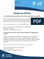 5. FAQ InteligenciaArtificial Nivel Int
