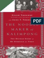 The Noodle MAker Of Kalimpong