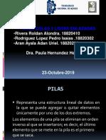 Estructura de datos Pilas