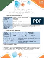Guía de actividades y rúbrica de evaluación - Paso 3 - Estrategias