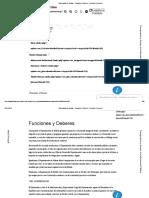 Gobernación de Bolivar - Funciones y Deberes - Funciones y Deberes