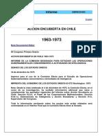 Accion Encubierta en Chile 63 al 73