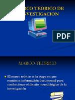 Asesoria - Marco Teorico de Investigacion