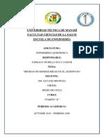 Medidas de Bioseguridad en El Quirofano Tarea