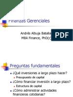 Semana 1 Finanzas Gerenciales