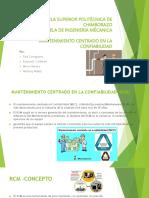 MANTENIMIENTO CENTRADO EN LA CONFIABILIDAD (RCM)