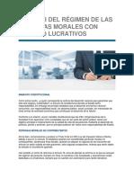 Obligaciones Fiscales Para Personas Morales No Contribuyentes