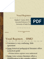 Vocal Register in Singing Classic