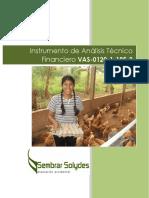 Instrumento de Análisis Técnico Financiero