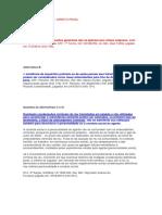 Caderno de Erros - Direito Penal