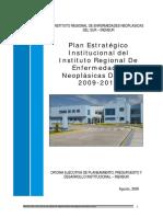 PLAN_13910_Plan Estratégico Institucional - IRENSUR_2010