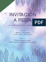 Invitación Es