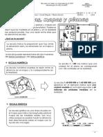 Ficha de Escalas Planos y Mapas