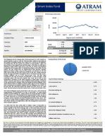 ATRAM Phil Equity Smart Index Fund Fact Sheet Nov 2018