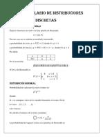 Formulario de Distribuciones