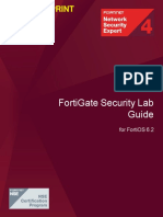 FortiGate Security 6.2 Lab Guide-Online