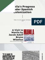 Manila's Progress under Spanish Colonization (1).pptx