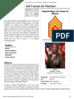 Sargento Mayor Del Cuerpo de Marines