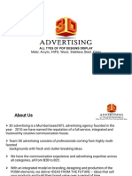 3D Advertising Company Profile