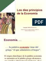 Principios de La Economía