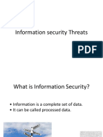 Information Security Threats 1